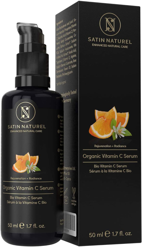 Satin Naturel Organic Vitamin C Sérum