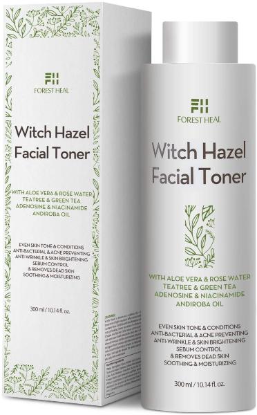 tónico facial piel grasa forest heal
