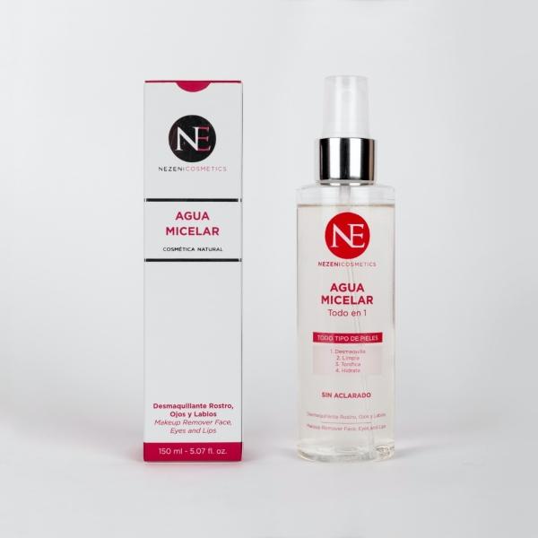 Agua micelar Nezeni mejores limpiadores faciales hombre
