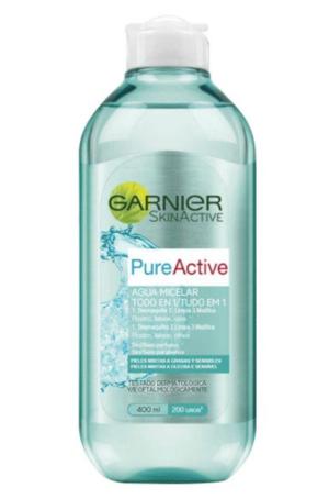 agua micelar pure active garnier desmaquillante