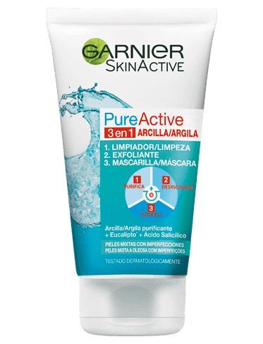 pure active exfoliante garnier